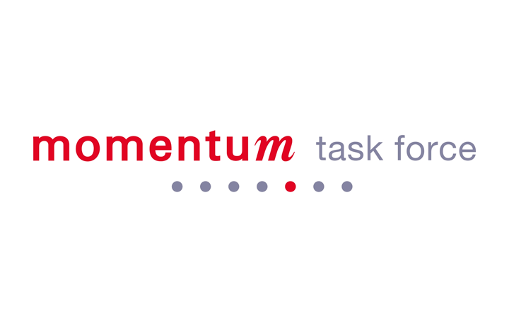Logotipo Momentum Task Force